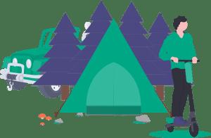 undraw Camping 2g8w