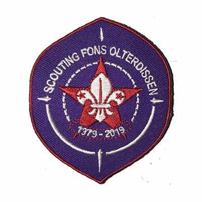Lustrum badge 40jaar