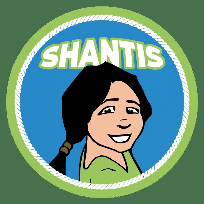 Speltakteken Shanti's